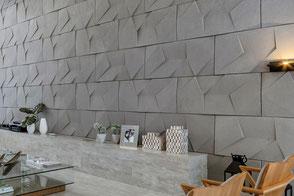 Wandfliese SCALENO - Wandplatte aus Beton von GODELMANN