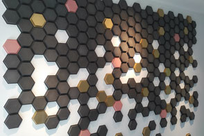 Wandfliese POLYGON - Wandkacheln aus Beton von GODELMANN