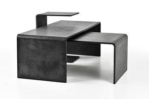 Betontische / Tische aus Beton TRIO SET