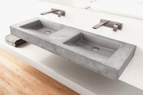 Waschbecken aus Beton SLANT 07