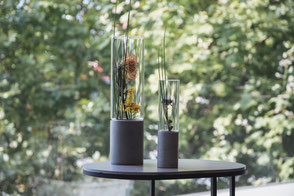 Vasen aus Beton - Wohnaccessoires