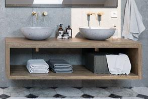 Waschbecken aus Beton ORB