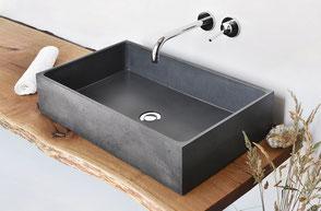 Waschbecken aus Beton BOX