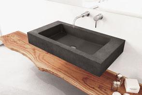 Waschbecken aus Beton Slant 06