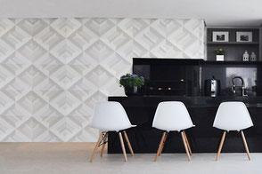 Wandfliese MATRICE - Wandplatte aus Beton von GODELMANN