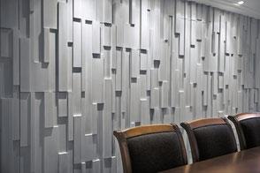 Wandfliese SQUADRI - Wandplatte aus Beton von GODELMANN
