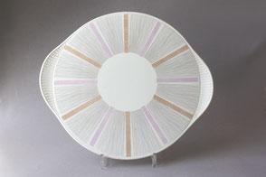 Vintage Tortenplatten & Pizzateller | Retro cake plates