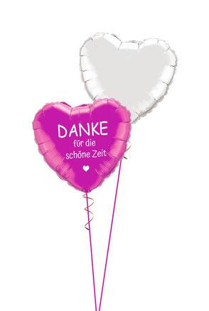 Danke Ballon Luftballon Heliumballon Bouquet Geschenk Mitbringsel sagen Dankeschön mit Namen Personalisierung Geschenkballon ich wollte einfach Danke sagen Frau Mann Versand Idee Party Feier Überraschung weil sich bedanken Versand Ballonpost