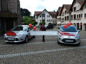 Ballon Weitflug Firmenevent Firma Werbung Promotion Herzen Heliumballons