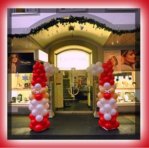 Luftballon Ballon Dekoration Geschenk Weihnachten Weihnachtszeit Adventszeit Christmas
