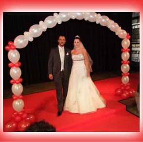 Luftballon Ballon Hochzeit Wedding Dekoration Geschenke Weitflug