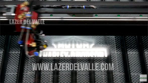 laser de corte de acrilíco