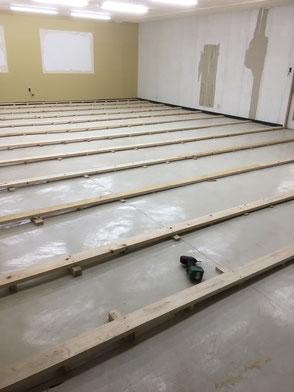 事務所スペース・施工途中の画像1