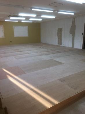 事務所スペース・施工途中の画像3