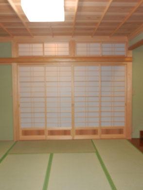 和室:欄間の画像