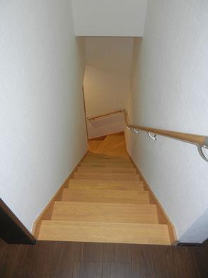 階段:上階からの画像