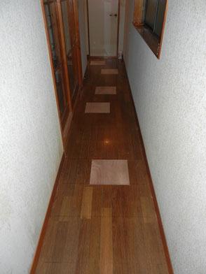 廊下:床補修の画像2