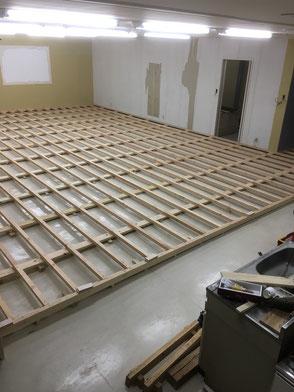 事務所スペース・施工途中の画像2