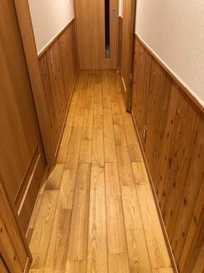 床板:松の無垢材の画像2