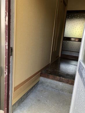 施工後・勝手口廊下側の画像