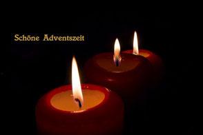 spruchkarte-weihnachten-advent-kerzenschein-drei-kerzen-III
