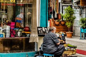 Schuhputzer in Istanbul