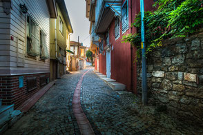 Gasse in Anadolu Hisari