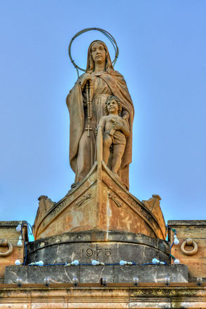Marienstatue-Our-Lady-of-Pompei-Malta