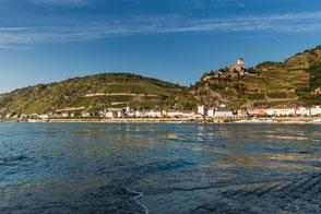 Blick nach Sankt Goarshausen