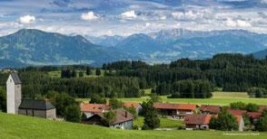 Picknick Oberallgäu, Milch, Käse, Diepolz, Allgäuer Bergbauernmuseum, Alm, Aussicht, Picknick in Bayern