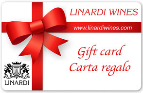 Regala le Gift Card carta regalo di Linardi Wines