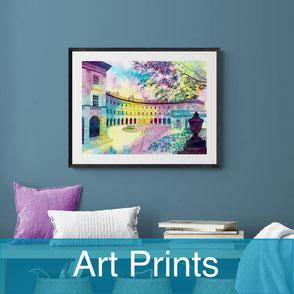 vibrant art prints
