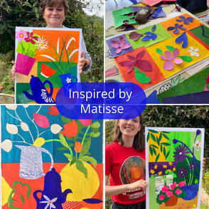 abstract architecture mixed media art workshop