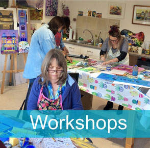 Pam Smart art workshop