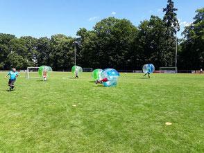 Bubble Football Frankfurt Rhein Main für Kinder und Erwachsene Junior Bubble Bälle kaufen mieten