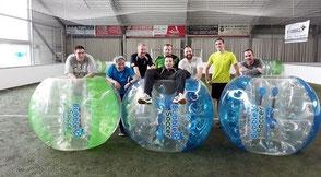 Junggesellenabschied indoor sportlich Soccerhalle JGA Ideen Frankfurt Spiele