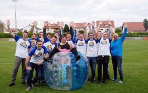 Junggesellenabschied Frankfurt Bubble Soccer Bubble Ball Bubblesoccer Bubble Football Bubble Bälle JGA