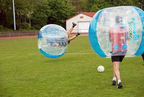 Bubble Soccer Fußball Vermietung kaufen mieten Verleih in Frankfurt Firmen
