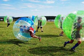 Bubble Soccer Fussball Football Frankfurt Hessen Mieten Verleih Bubble Bälle