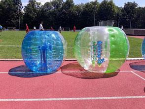 Bubble Bälle für Kinder Kids mieten kaufen Junior Bumper Bubble Bälle Frankfurt Hessen
