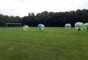 Spielideen Sommerfest Betriebsausflug Bubble Soccer Spiele Ideen Frankfurt Teamevent