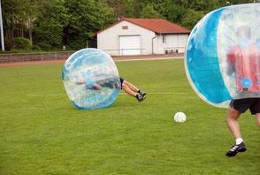 Bubble Soccer Fußball Verleih mieten Frankfurt Hessen Wetterau JGA Junggesellenabschied