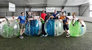 Bubble Football Fussball Ball Junggesellenabschied Soccerhalle Idee Groß Umstadt Frankfurt