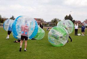 Bubble Fußball Spiele Spielvarianten Video Football Mieten Verleih Bälle kaufen