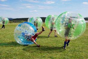 Bubble Soccer Turnier Fußball Teamevent Firmenevent Teambuilding Frankfurt Hessen Deutschland Bumper Ball