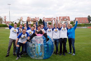 Action Sport Ideen Junggesellenabschied JGA Party Spiele Bubble Ball