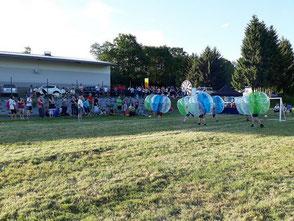 Bubble Soccer Fottball Turnier Firmen Sommerfest Frankfurt