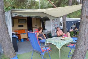 camping le soleil à Esparron de Verdon se reposer