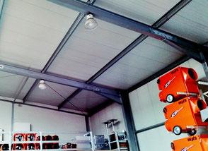 Hallenzubehör für Leichtbauhallen und Lagerzelte