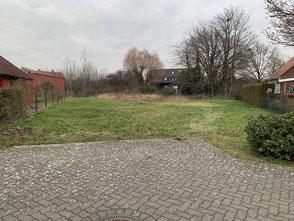 Grundstück für das Holzhaus in massiver Blockbauweise - Bungalow  - Singlehaus - Wohnhaus - Niedersachsen - Baustelle - Hannover - Holzminden - Göttingen - Neubau - Bauen - Wohnblockhaus